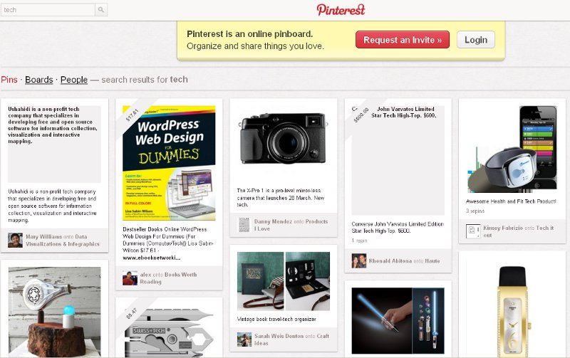 Pinterest-pin-board-social-network