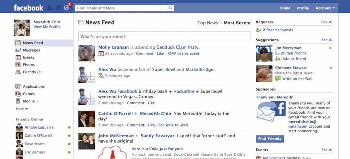 Customised facebook business fan page design and setup