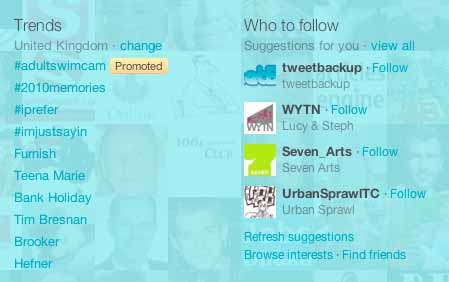 How twitter works - twitter trends and who to follow